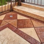 stamped-concrete-patio-with-concrete-stains-and-sealing