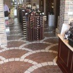 Stamped Concrete Floor Overlay Southern CA