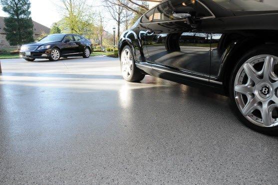 los angeles concrete garage floor