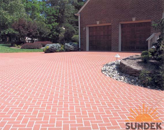 Classic Driveway In Herringbone Brick 048 San Diego Ca