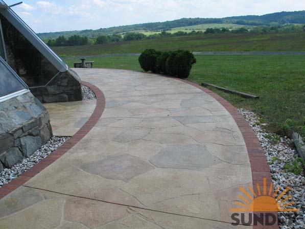 Concrete Coatings Specialists Walkways Gallery